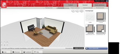Olohuoneen suunnitteluohjelma – Rakentaminen talonsa